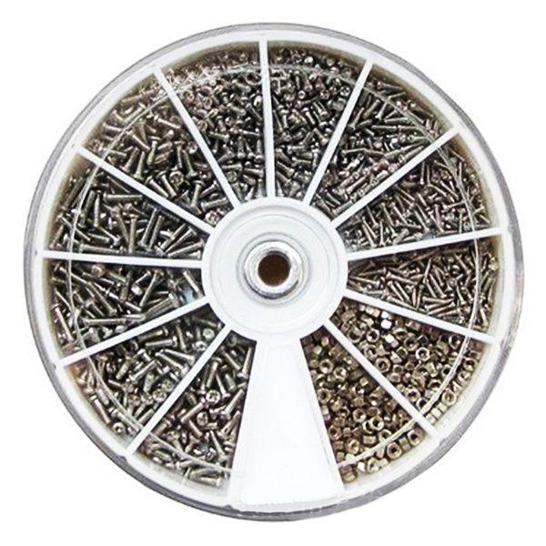 Kit com 600 Peças em Aço Inoxidável para Impressoras 3D e CNC