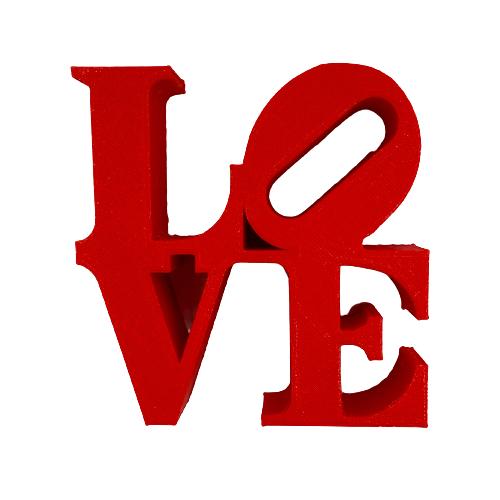 Letreiro Love em Impressão 3D