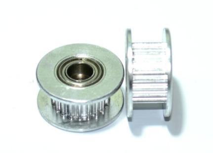 Polia - Gt2 - 20 Dentes Com Rolamento Furo - 5mm