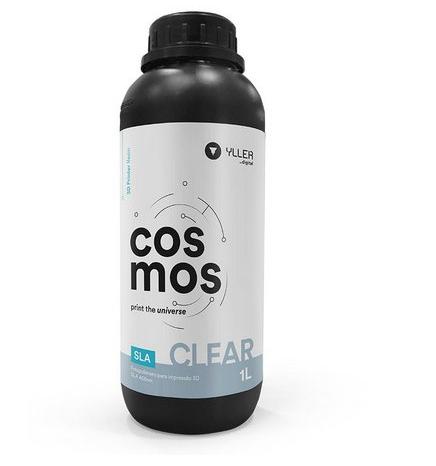 Resina Cosmos - Clear - Yller - SLA - 405nm - 1 litro