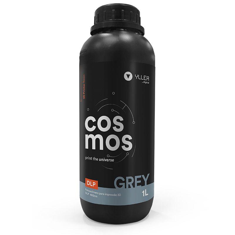Resina Cosmos - Grey - Yller - DLP - 405nm - 1 litro