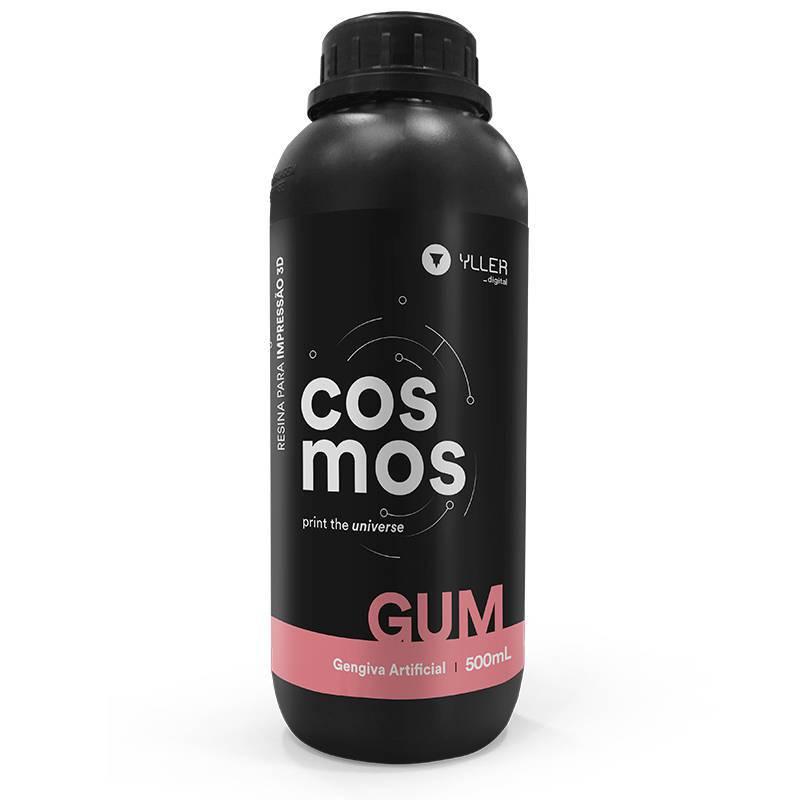 Resina Cosmos - Gum - Yller - Gengiva Artificial - 500 ml