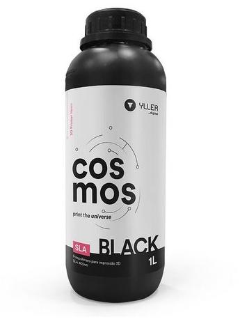 Resina Cosmos - Preto (Black) - Yller - SLA - 405nm - 1 litro