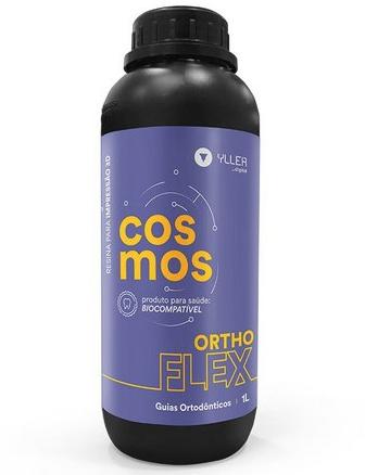 Resina de Impressão 3D - Cosmos - Ortho Flex - Biocompatível para Guias Ortodônticas - Yller - 1 Litro