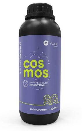 Resina de Impressão 3D - Cosmos - SG - DLP - Guias Cirúrgicos - Yller - 500ml