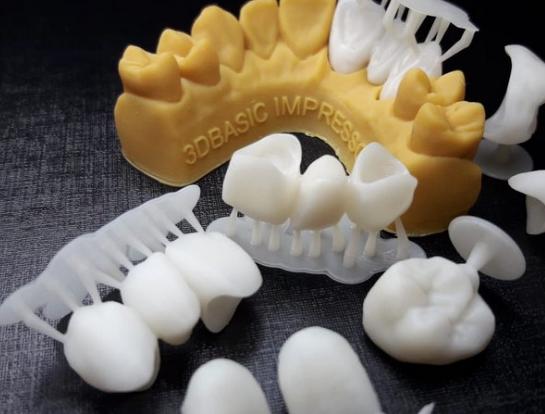 Resina de Impressão 3D - Cosmos - TEMP A1 - Biocompatível para Provisórios - Yller - DLP - 500ml