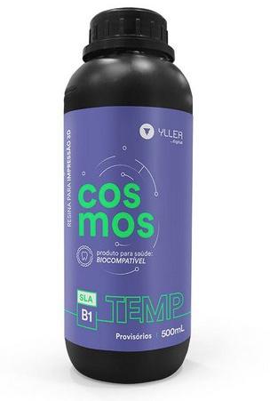 Resina de Impressão 3D - Cosmos - TEMP B1 - Biocompatível para Provisórios - Yller - DLP - 500ml