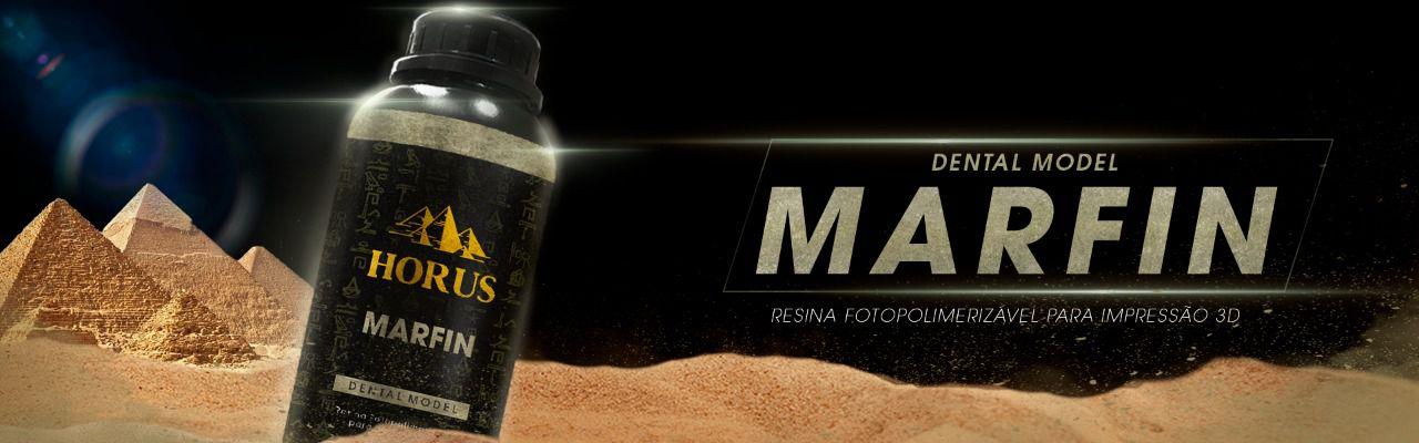 Resina Dental - Horus - Marfin de 500 gramas