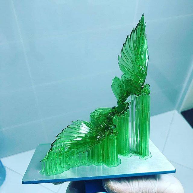 Resina Melting 3D - Verde Translúcida - Standard - LCD/SLA/DLP - 380/420nm - 500 ml