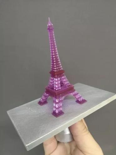 Resina Melting 3D - VioletaTranslúcido - Standard - LCD/SLA/DLP - 380/420nm - 500 ml