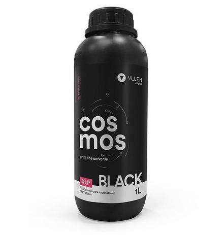 Resina Cosmos - Preta (Black) - Yller - DLP - 1 litro