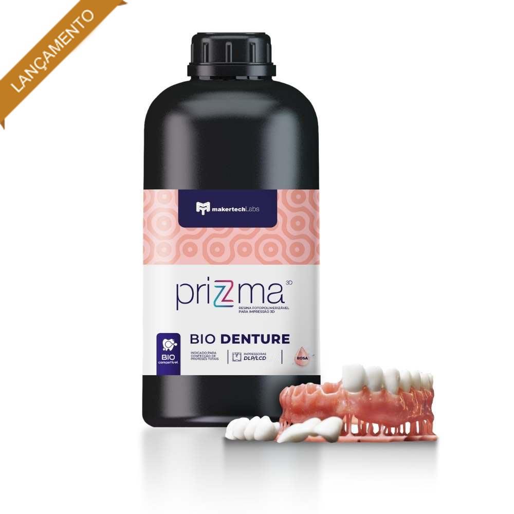 Resina priZma - Bio Denture - A1 - MakertechLabs - DLP/LCD - 250g