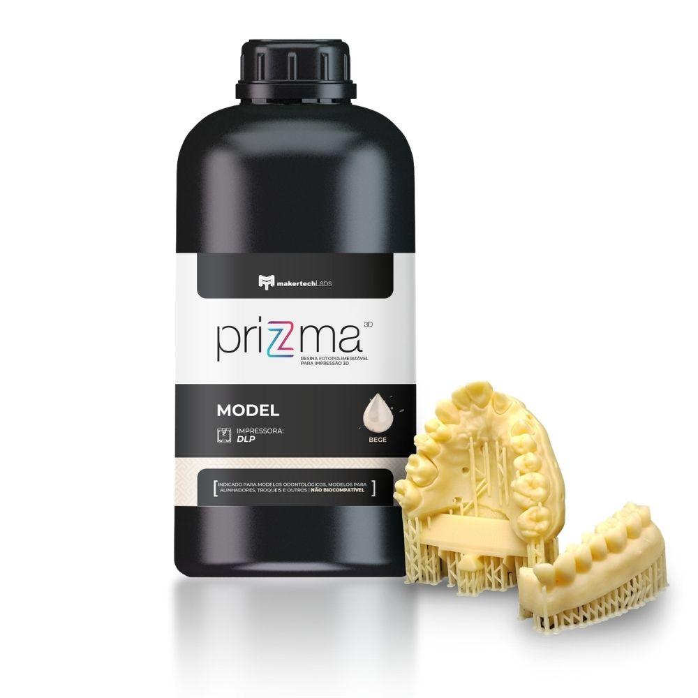 Resina priZma - Model - Impressão 3D - MakertechLabs - DLP - 5L