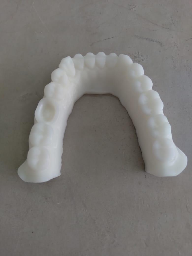 Resina Pro de Alta Performance - Branca - Dental - Loja 3D - DLP/LCD - 500 ml