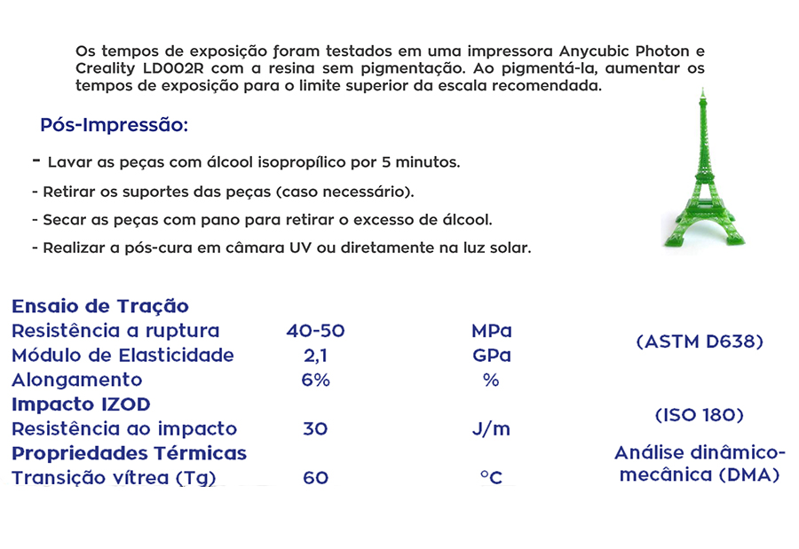 Resina Pro de Alta Performance - Rosa Skin - Standard - Loja 3D - DLP/LCD - 500 ml