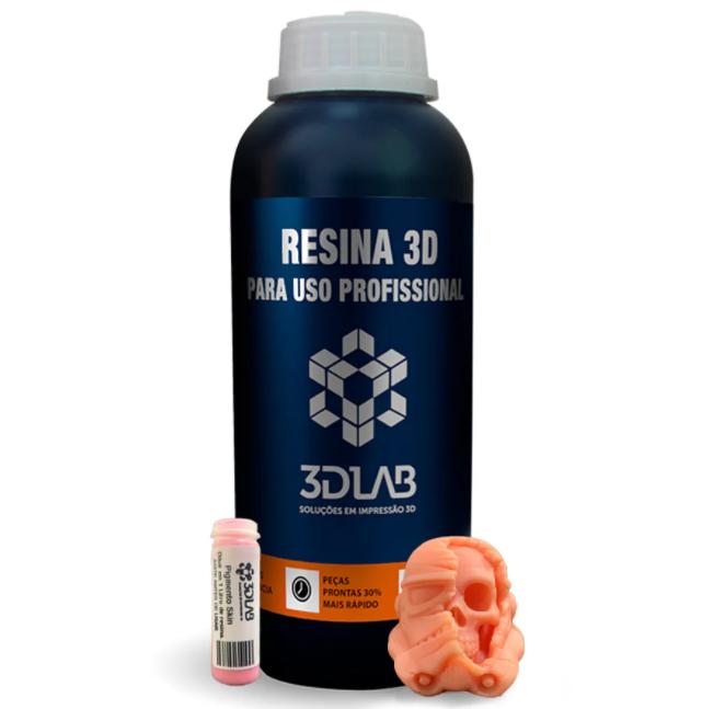 Resina Standard - Skin - 3D Lab - 1 Litro