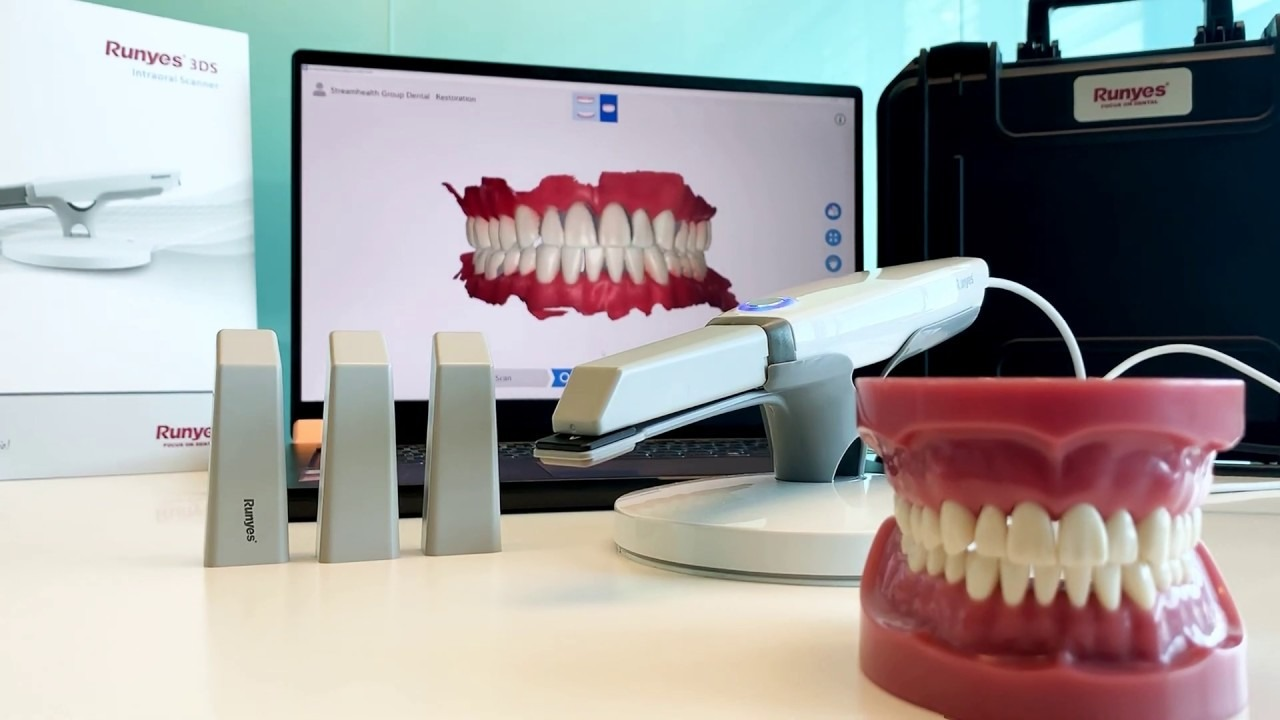 Scanner Intraoral 3DS Runyes 3D Touch