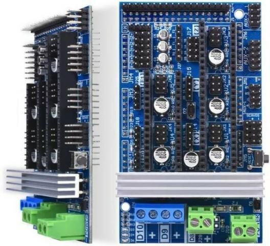 Shield Ramps 1.6 Impressora 3d Reprap Arduino Automação Robótica