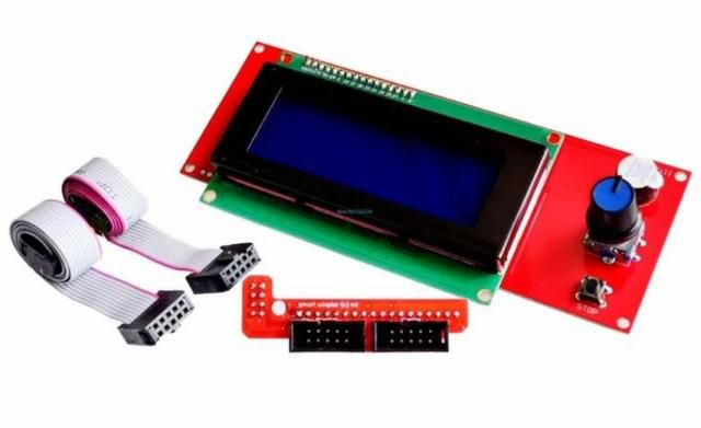 Display LCD 2004 Smart Controller para Impressoras 3D