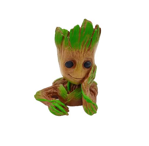 Vaso Baby Groot em Impressão 3D