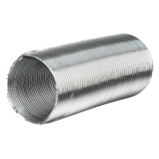 Duto Semi-Flexível Alumínio - 8 Polegadas - 203mm.