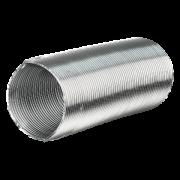 Duto Semi-Flexível Alumínio - 4 Polegadas - 102mm