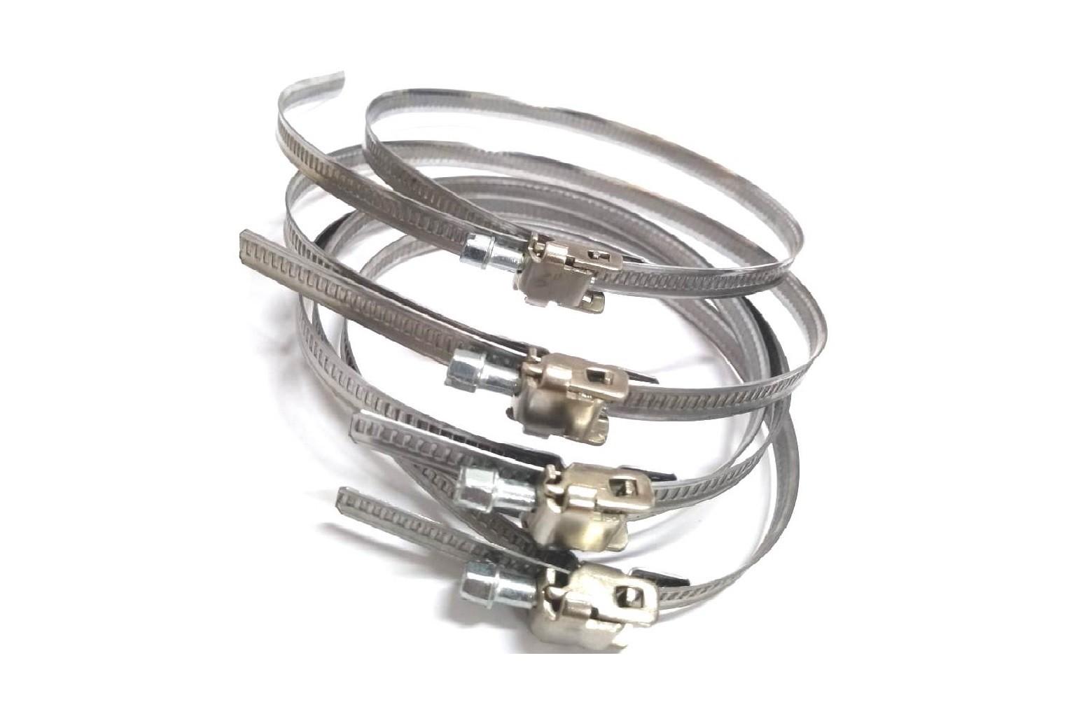"""Abraçadeira de Metal  4"""" (102 mm) - Kit com 5 unidades"""