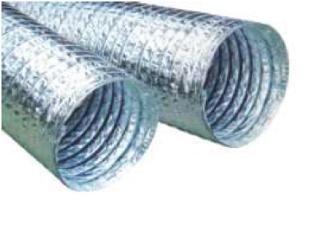 Duto Flex Sem Isolamento 5m - 4 Polegadas - 102mm