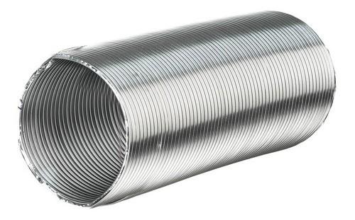 Duto Semi Flexível 10pol(254 mm) - Alumínio C/ 1 Metro