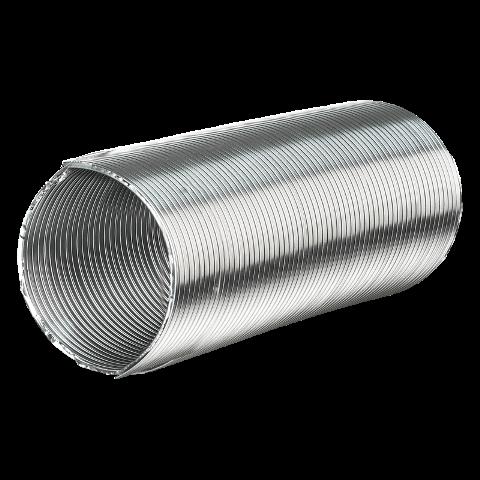 Duto Semi-Flexível Alumínio - 6 Polegadas - 152mm