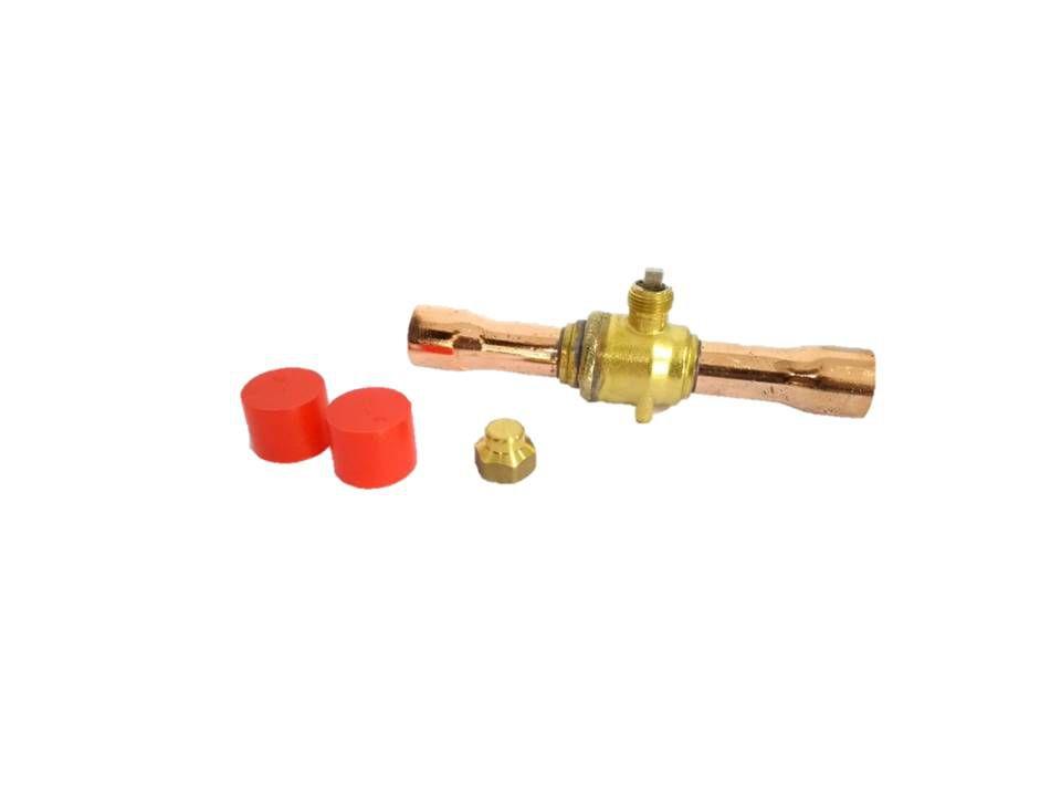 Válvula esfera de cobre 1-1/4 - Sem acesso