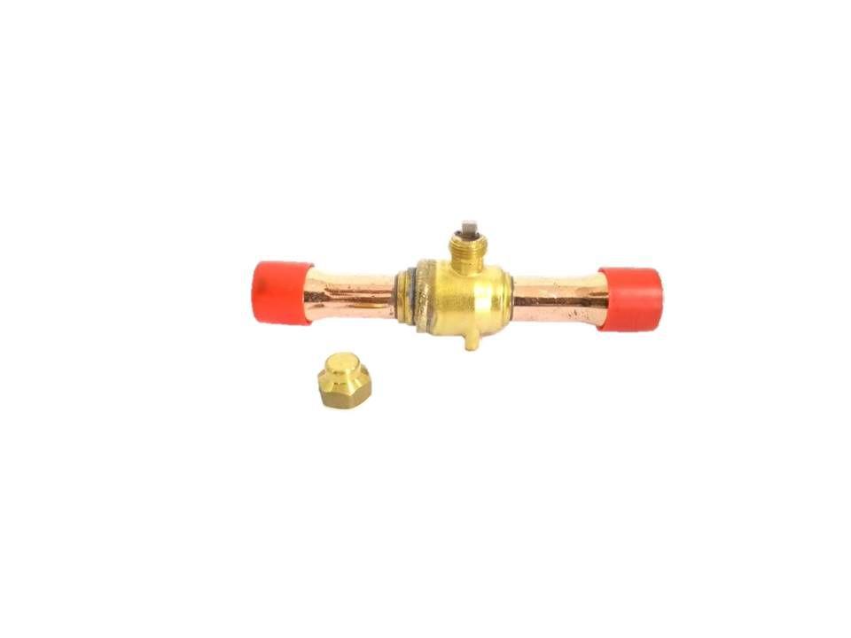 Válvula esfera de cobre 1 - Sem acesso