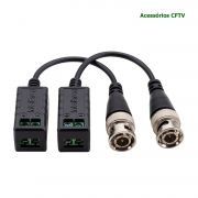 Kit 4 Par Video Balun Passivo Conversor Xbp 400 Hd Intelbras