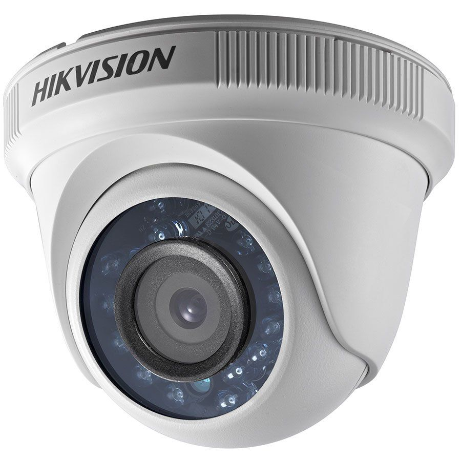 Câmera Segurança CFTV Hikvision Dome HDTVI FullHD 1080p Infravermelho 15m DS2CE5AD0TIRP 2,8mm