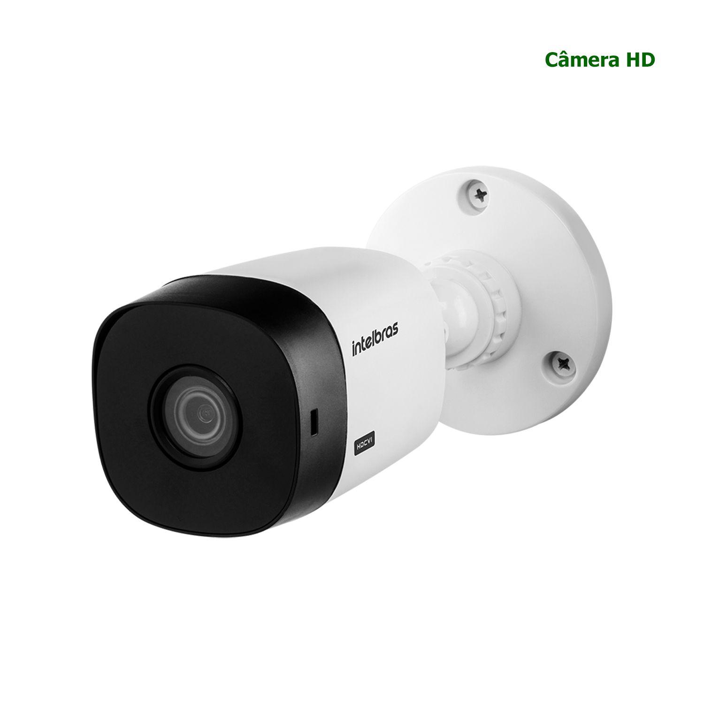Câmera Segurança CFTV Intelbras Bullet HDCVI HD 720p Infravermelho VHL 1120 B 3,6mm