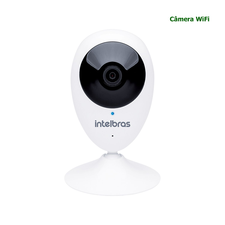 Câmera WiFi Intelbras HD 720p Com Audio Infravermelho IC3