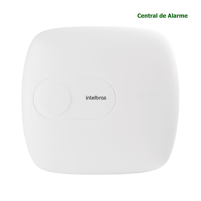 Central Alarme Intelbras Monitorada Internet Aplicativo Celular Mobil AMT 1016 NET