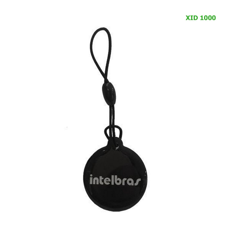 Chaveiro Aproximação Intelbras TAG RFID Mifare 13,56 MHz Controle Acesso XID 1000
