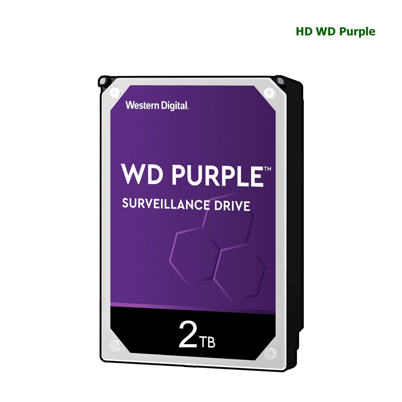 Disco Rígido HD Wd Purple Surveillance Para CFTV 2T