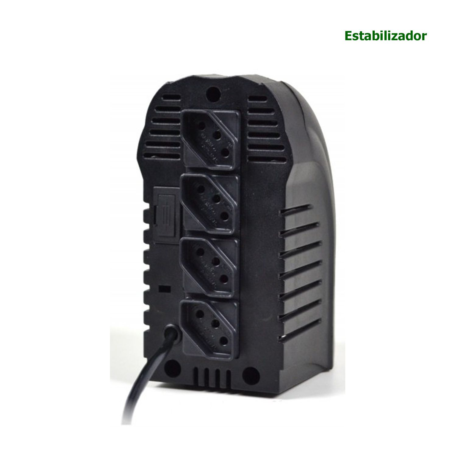 Estabilizador TS SHARA 4 Tomadas Powerest 500VA Bivolt/115V - 9016