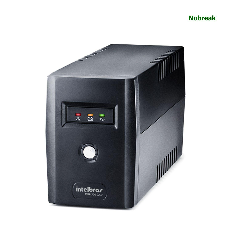 Nobreak Intelbras 4 Tomadas 720VA 360W 220V XNB 720
