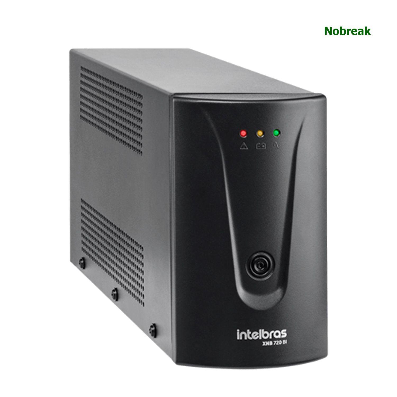 Nobreak Intelbras 4 Tomadas 720VA 360W Bivolt/120V XNB 720 BI