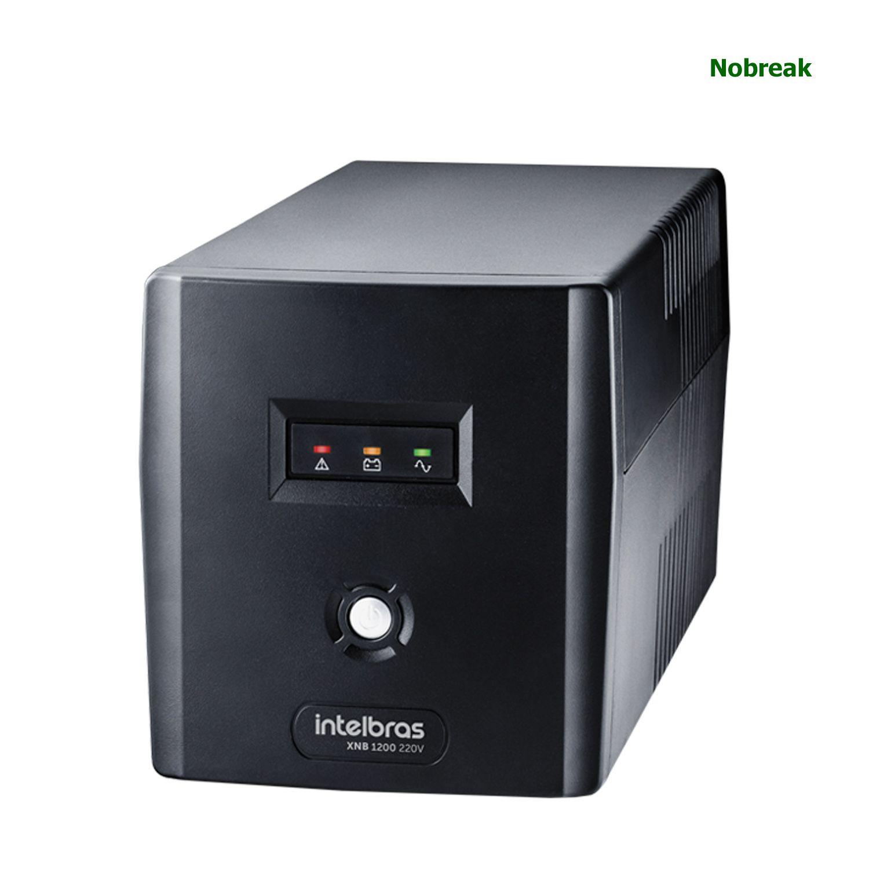 Nobreak Intelbras 6 Tomadas 1200VA 600W 220V XNB 1200