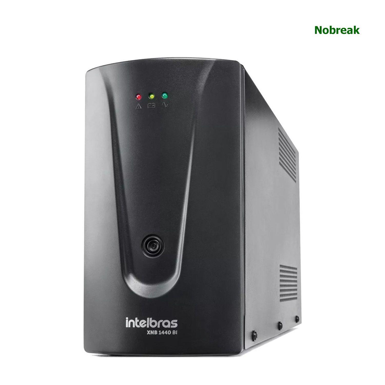 Nobreak Intelbras 6 Tomadas 1440VA 720W Bivolt/120V XNB 1440 BI