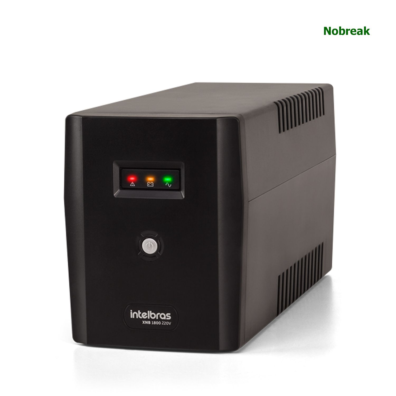 Nobreak Intelbras 6 Tomadas 1800VA 1260W 220V XNB 1800