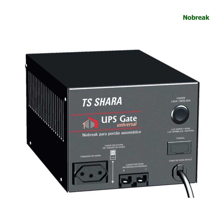Nobreak Portão TS SHARA Gate Universal 1600VA 1120W Bivolt Sem Bateria COD 4399
