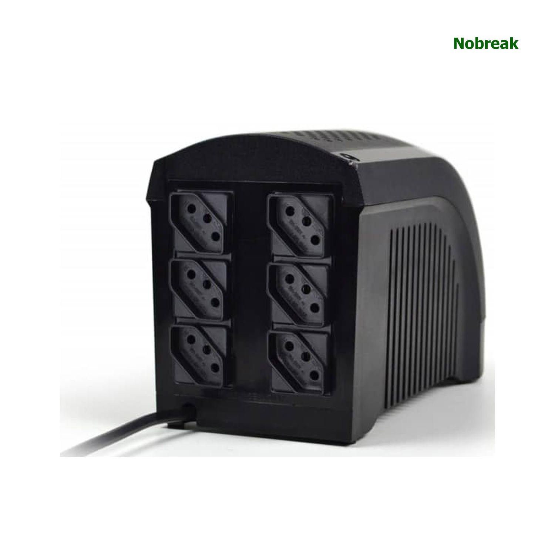 Nobreak TS SHARA 3 + 3 Tomadas Mini 600VA 390W 4003 Bivolt/115V COD 4003