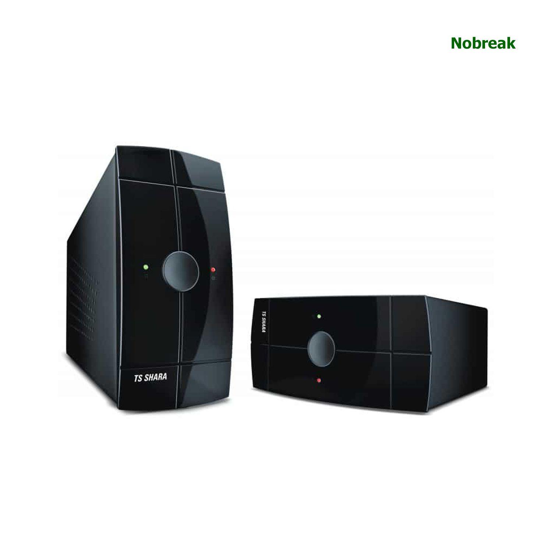 Nobreak TS SHARA 3 + 3 Tomadas Powerups 700VA 455W Bivolt/115V COD 4009