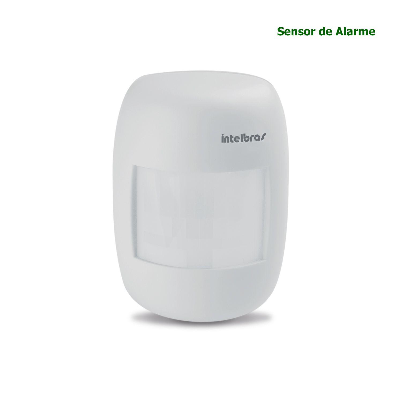 Sensor de Alarme Infravermelho Com Fio Intelbras IVP 3000 CF