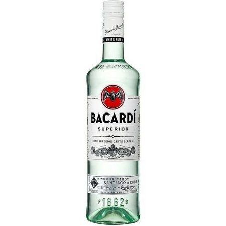 Rum Bacardi Carta Blanca Superior 980 ml